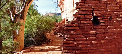 Honanki Ruins near Sedona