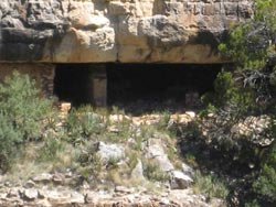 Ruins in Walnut Canyon